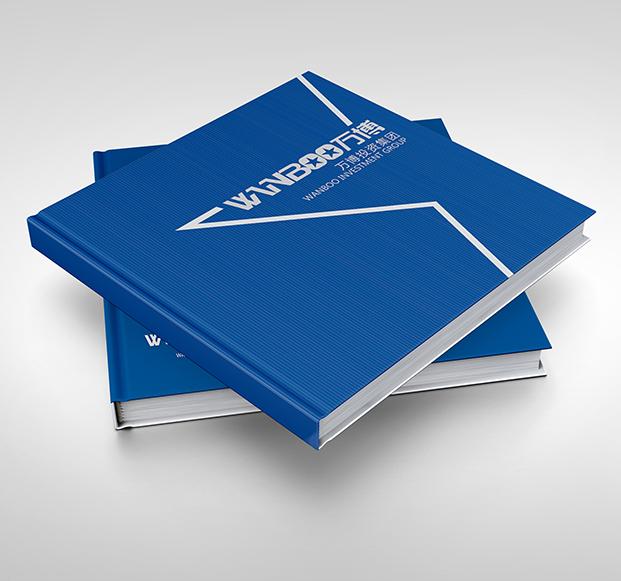 万博投资-集团画册设计