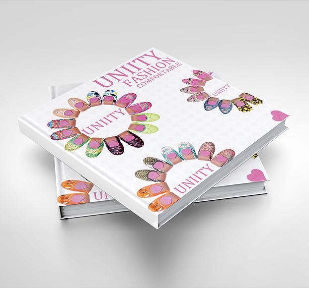 优妮蒂-服饰画册设计