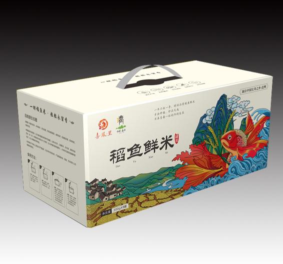 稻鱼米-大米包装设计