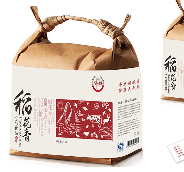 百年丰庆-大米包装设计