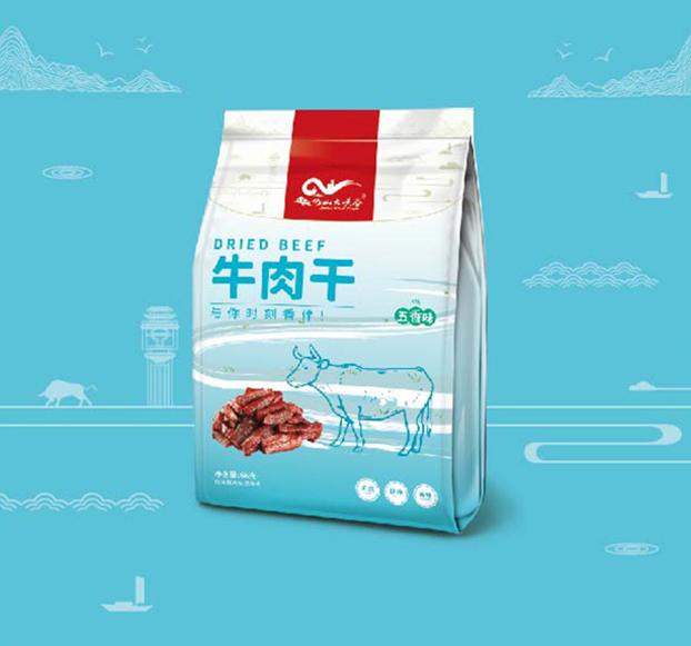 巴山大峡谷-牛肉干包装设计